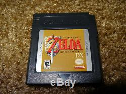 Legend of Zelda Game Boy Collector Lot (4) Awakening Link Past Ages Seasons