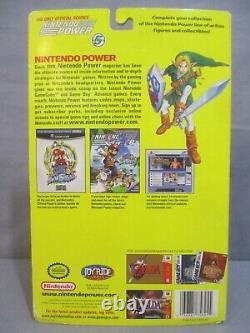 Legend of Zelda LINK Ocarina of Time Action Figure Joyride 2003 Nintendo Power z