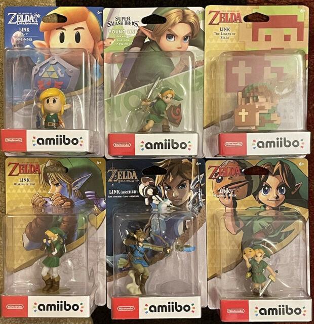 Legend Of Zelda (link) Amiibo Lot, Brand Newithfactory Sealed, Nintendo Switch