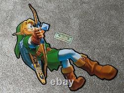 Legend of Zelda Link Game Crazy/Hollywood Video Promotional Display VERY RARE
