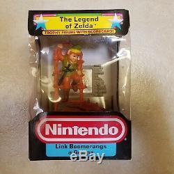 Legend of Zelda Link Nintendo NES Hasbro Trophy Figure Toy Game Vintage Rare Lot