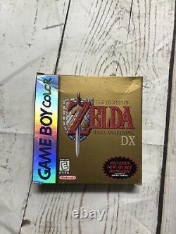 Legend of Zelda Link's Awakening DX Box Only No Game (Game Boy Color, 1998)