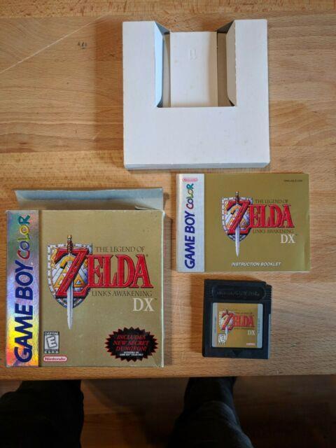 Legend Of Zelda Link's Awakening Dx (game Boy Color, 1998)