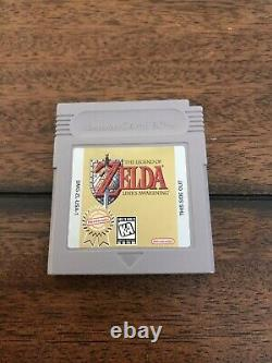 Legend of Zelda Link's Awakening DX (Game Boy Color, 1998) CIB COMPLETE GB