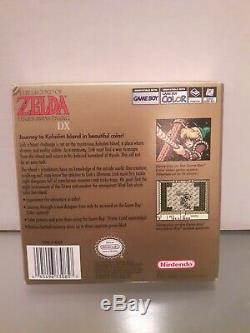 Legend of Zelda Link's Awakening DX (Game Boy Color, 1998) CIB Complete in Box