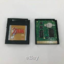 Legend of Zelda Link's Awakening DX (Game Boy Color, 1998) Complete in Box