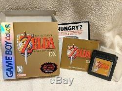 Legend of Zelda Link's Awakening DX (Game Boy Color) CIB COMPLETE VERY GOOD RARE