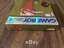 Legend of Zelda Link's Awakening DX (Nintendo Game Boy Color) Complete Tested