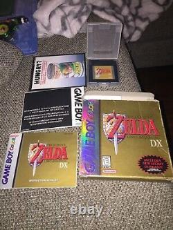 Legend of Zelda Link's Awakening DX Nintendo Game Boy Color GBC CIB Complete