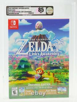 Legend of Zelda Link's Awakening Dreamer Edition Nintendo Switch SEALED VGA 85