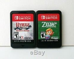 Legend of Zelda Link's Awakening Hyrule Warriors Nintendo Switch Games Lot Links
