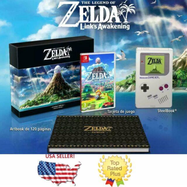 Legend Of Zelda Link's Awakening Limited Edition Nintendo Switch Eu/au Steelbook
