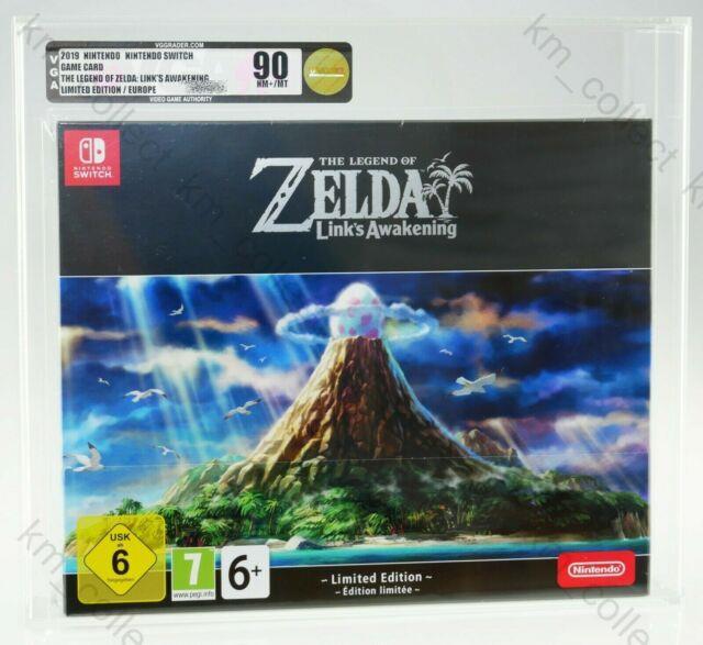 Legend Of Zelda Link's Awakening Limited Edition Nintendo Switch Sealed Vga 90