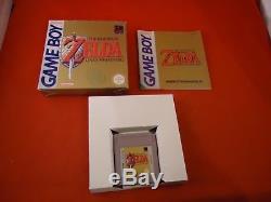 Legend of Zelda Link's Awakening Nintendo Game Boy COMPLETE Box (PAL version)