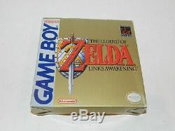 Legend of Zelda Link's Awakening Nintendo Game Boy GameBoy Complete in Box CIB