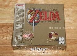 Legend of Zelda Link's Awakening (Nintendo Game Boy) NEW SEALED! RARE
