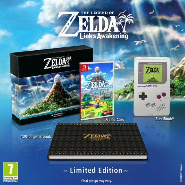 Legend Of Zelda Link's Awakening Preorder Limited Edition Nintendo Switch Game