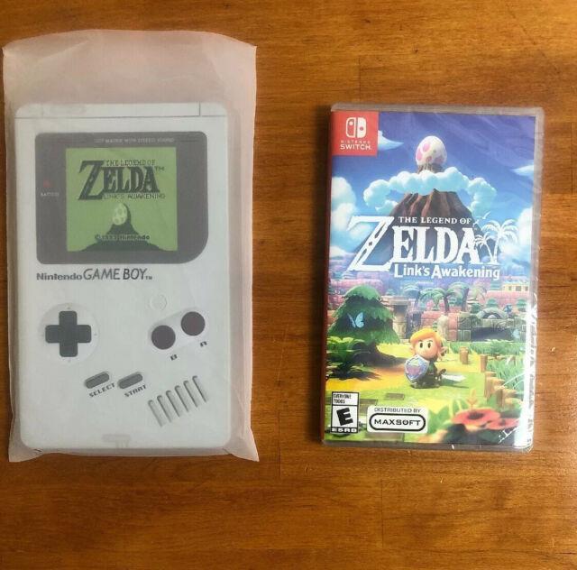 Legend Of Zelda Link's Awakening With Game Boy Case Steelbook Nintendo Switch