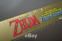 Legend of Zelda Link to the Past + Four Swords (GBA) NEW SEALED FIRST PRINT NM