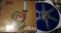 Legend of Zelda Link to the Past Soundtrack Vinyl LP Record Moonshake 2D Ninja