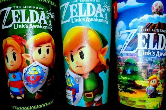 Legend Of Zelda Links Awakening 7-11 Canada Exclusive Slurpee Cups Us Usa Seven
