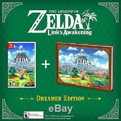Legend of Zelda Links Awakening Dreamer Edition (Nintendo Switch, 2019)