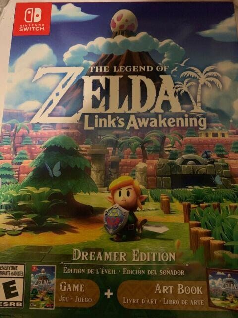 Legend Of Zelda Links Awakening Dreamer Edition Switch New Sealed In Hand