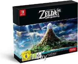 Legend of Zelda Links Awakening Limited Edition UK Version Steelbook NEW Sealed