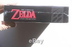 Legend of Zelda Links Awakening SNES LE Wooden Cartridge with 2 Posters ULTRA RARE