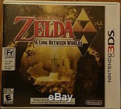 Legend of Zelda Ocarina of Time 3D A Link Between Worlds 3DS Combo New Sealed