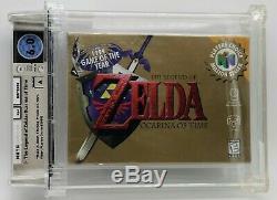 Legend of Zelda Ocarina of Time Link Nintendo 64 N64 New VGA WATA Graded 6.0 A