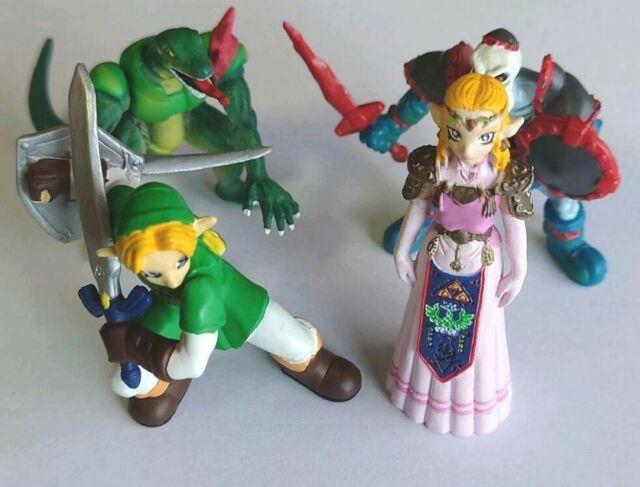 Legend Of Zelda Ocarina Of Time Real Figure Collection Complete Set Doll Rare