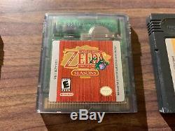 Legend of Zelda Oracle of Ages + Seasons + Link's Awakening DX (Game Boy Color)