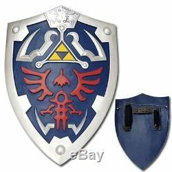 Legend of Zelda Real Steel Premium Gift Set Master Sword and Shield Link's Game