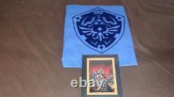 Legend of Zelda Shirt & Art Cel Complete Set 2016 Nintendo New York Exclusive