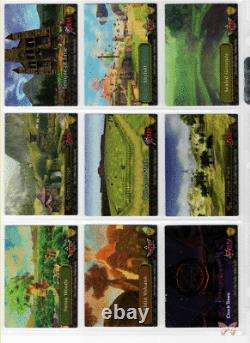 Legend of Zelda The 2016 Enterplay 108 Trading Card Set (Has ALL Silver FOILS)