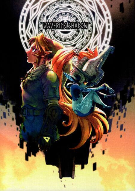 Legend Of Zelda The Twilight Princess Doujinshi Comic Link X Midna Wavering Shad