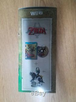 Legend of Zelda Twilight Princess HD (Nintendo Wii U) with Wolf Link Amiibo