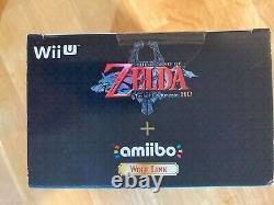 Legend of Zelda Twilight Princess HD, Wolf Link Amiibo Wii U New