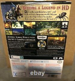 Legend of Zelda Twilight Princess HD Wolf Link amiibo Collectors Edition Wii U