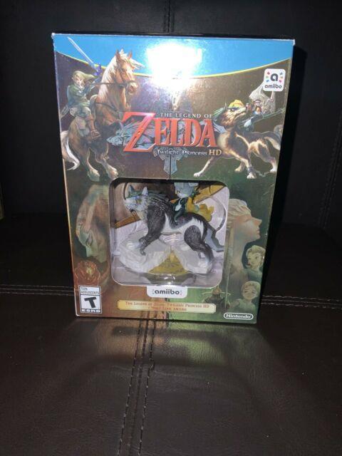 Legend Of Zelda Twilight Princess Hd + Wolf Link Amiibo. Nintendo Wii U