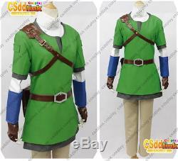Legend of zelda Link Cosplay Costume skyward sword