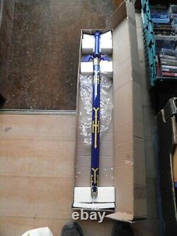 Legend of zelda Sword and scabbard. Very heavy. Boxed unused. Superb item