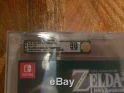 Legend of zelda links awakening limited edition VGA Nintendo GBA Switch