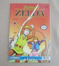 Link The Legend of Zelda #1 Acclaim / Valiant, 1990 Series Near Mint Mint