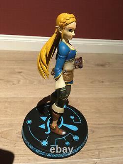 Link and Zelda Breathe of the Wild First 4 Figures PVC BOTW F4F Legend of Zelda
