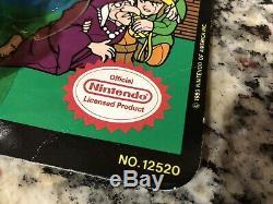 Link from Legend Of Zelda Nintendo NES 1989 Wind-up Vintage Toy Figure Rare NEW