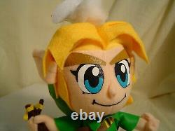 Link with Fairy Legend of Zelda UFO Plush Doll- Last one left! NEW