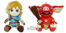 Little Buddy Legend of Zelda Breath of the Wild Link & Bokoblin Plush Set