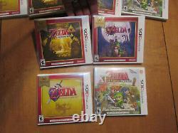 Lot 4 Nintendo 3ds The Legend Of Zelda Majora's Mask 3d, A Link Between Worlds